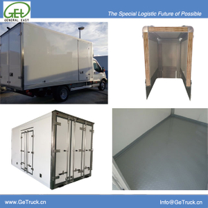 FRP+Plywood+FRP Composite sandwich panel for Dry logistic Cargo Box
