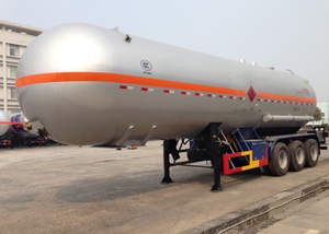 45000L 3 axles Liquefied Petroleum Gas Lorry Tank Semi Trailer for Liquid Ammonia,LPG Tanker Semi Trailer