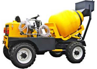 Mobile Mixer , 4x2 self loading mobile mixer , 800L drum 350L concrete mixer , Concrete Mixer