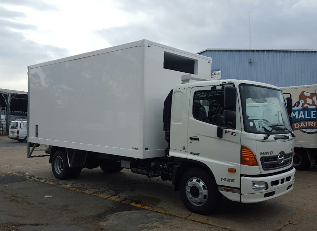 XPS Refrigerated Truck Body, FRP+XPS+FRP Composite Sandwich Panel for Refrigerated Truck Body