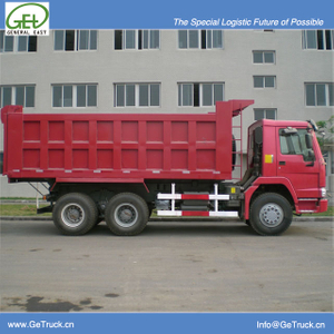 ZZ3257S3647B-SINOTRUK HOWO Tipper Truck with 371 HP Engine and 19 cbm Rear Hydraulic Box