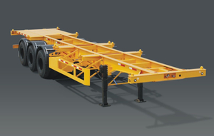 40 Foot Container Skeleton Semi Trailer 3 axles