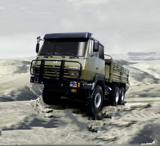 SHACMAN 6x6 off-road Sport Truck