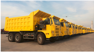 HOVA 3360hp Howo MINE Dump Tipper Truck with 6*4 drive and 5.6m dump box