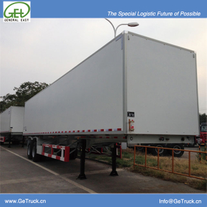 40 feet 2 axles Koegel FRP+PU+FRP composite Insuated semi-trailer