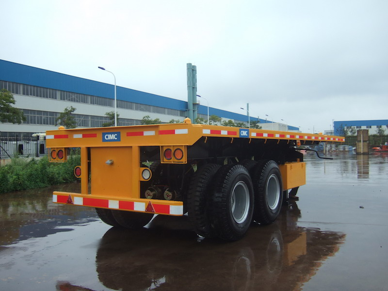 20ft FlatBed Container Semi Trailer