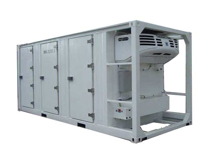 Inland Mobile Freezing Container with All - Closed FRP / GRP Sandwich Panel Kits