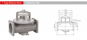 Bottom Valves-Emergency Valves-GET C804TQ-100