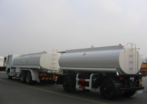 18000L Carbon Steel Draw Bar Tanker Trailer with 2 Axles for Fuel Or Diesel Liqulid ,Refuel Carbon Steel Tanker Trailer