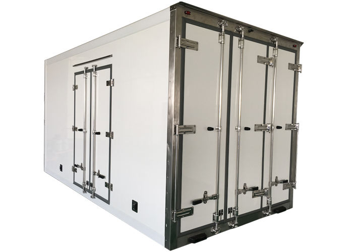Fast Assembly Refrigerated and Freezing Sandwich composite panel kits and box with GRP Profiles,Insulated Truckbody